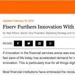 Fiserv blog